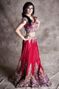 IT'S PG'LICIOUS  #redlehenga #lehenga #indianbride #indianfashion