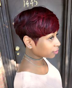 Gorgeous cut and color by @artistry4gg Read the article here - http://www.blackhairinformation.com/hairstyle-gallery/gorgeous-cut-color-artistry4gg/