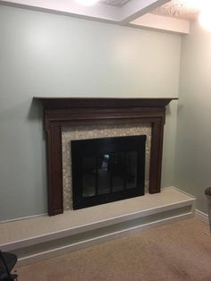 Homeowner updates fireplace after 22 years - look at her amazing fireplace now
