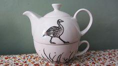 Custom teapot - Back