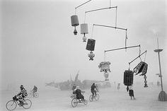 Biking under the lamps... A New Breed of Documentary Photographers