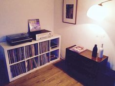 hipster expedit - record collection