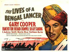 """BEST ADAPTED SCREENPLAY NOMINEE: Achmed Abdullah, John L. Balderston, Grover Jones, William Slavens McNutt and Waldemar Young for """"Lives of a Bengal Lancer""""."""