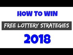 Over the years, experienced players have made serious improvements in regards to the they use. Increase your chances to win the lottery. Lottery Pick, Winning The Lottery, Lottery Strategy, Over The Years, Youtube Youtube, Voodoo, Free Samples, Money, Health