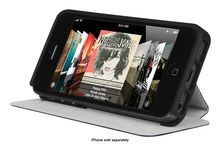 Incipio - Lgnd Hard Shell Folio Case for Apple® iPhone® SE, 5s & 5 - Navy Blue, IPH-1130-BLU