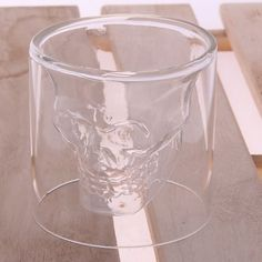 Creative Skull Design Crystal Transparent Glass Cup-3.04 and Free Shipping| GearBest.com
