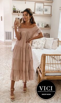 Girly Outfits, Chic Outfits, Trendy Outfits, Summer Outfits, Fashion Outfits, Boho Fashion, Spring Fashion, Autumn Fashion, Looks Party