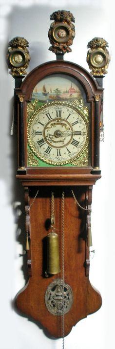 Friese staartklok, 19e eeuw