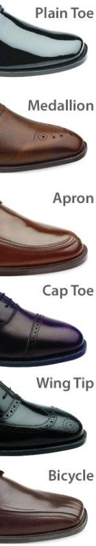 Knowing thy plain toe from thy wing tip
