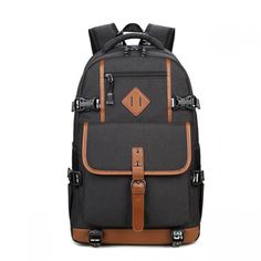 015bfab2c644 Fashion Oxford Cloth Waterproof Bag Computer Bag Large Outdoor Travel Men s  Backpack just  38.99