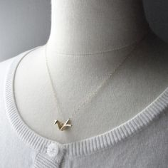 Olive Yew! | Origami Crane Necklace
