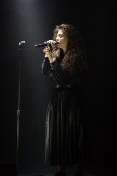 Lorde performs at Roseland Ballroom on March 11, 2014 in New York City.3