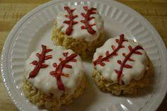 Come Together Kids: Baseball Krispie Treats