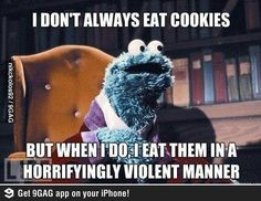 Cookie Monster at his best