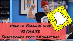 How to Add & Follow Your Favourite Skateboarders On SnapChat! #snapchatdirectory #skateboarders #snapchat #snapcodes #skateboarding #snapchatbarcodes
