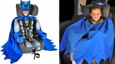 Your Child Will Never Be Safer In a Car Than In the Arms of Batman
