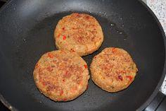 Echt eten, puur koken: Groenteburger. Vervang paneermeel door kruimels van boekweitcrackers