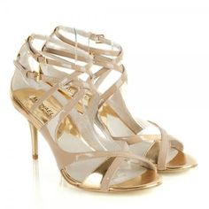 DUNE LADIES MELODEE - T-bar Jewelled Mid Heel Sandal - nude | Dune ...
