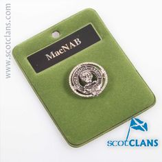MacNab Clan Crest Badge. worldwide shipping available