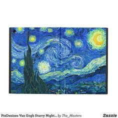 off Hand made oil painting reproduction of The Starry Night, one of the most famous paintings by Vincent Van Gogh. Painted a year after his Starry Night Over the Rhone, Van Gogh. Van Gogh Pinturas, Desenhos Van Gogh, Gogh The Starry Night, Starry Night Original, Starry Nights, Starry Starry Night Painting, Painting Shower, Painting Art, Moon Painting