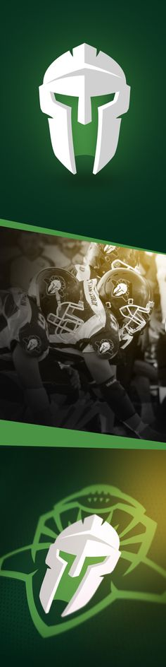 Tytani Lublin - American Football Team ID by Karol Sidorowski, via Behance