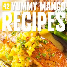 If you love mango you need to try these recipes! It has all the best mango has to offer, including meals, drinks, desserts and snacks.