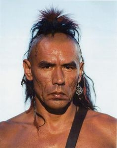 Wes (Wesley) Studi, famous Native American actor (The Last of the Mohicans), was born in Nofire Hollow, Oklahoma, the son of Maggie, a housekeeper, and Andy Studi, a ranch hand. Studi was schooled at Chilocco Indian Agricultural School in Northern Oklahoma. Until he attended grade school, he spoke only Cherokee. In 1967, he was drafted into the Army and served 18 months in Vietnam.