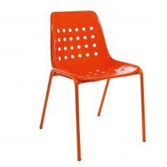 Elegant Schaffner Bermuda Stapelstuhl Metall/Kunststoff Orange Ideas