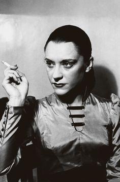 """Maria Casares in """"Les Justes"""" by Albert Camus, by Roger-Viollet, Paris, 1949"""