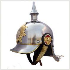 German Pickelhaube Helmet