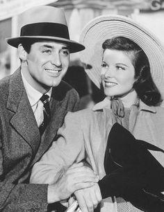 Cary Grant and Katharine Hepburn - Holiday (1938)