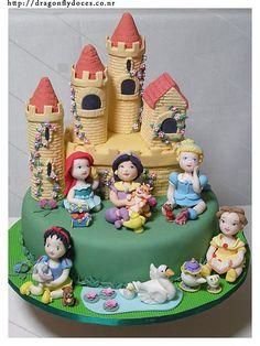 Disney Princesses cake.