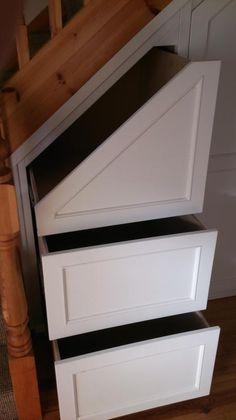 Photos of Under Stairs Storage & Attic Storage | CleverClosets.ie