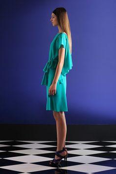 Alberta Ferretti Resort 2012 Fashion Show Collection