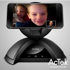 Use your smartphone and AcTek #speaker to feel like you're really there with your loved ones. #Wireless