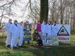 """Actie bij gifakker in het gehucht """"Over de Dijk"""" in de gemeente Vlagtwedde"""