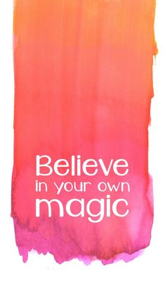 QOTD: Believe in your own magic #thesydneyproject