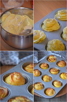 Millefeuilles potatoes Preparation: 10 minutes baking: 55 minutes How to make nice millefeuilles potatoes and impress yo.