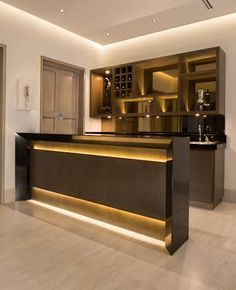 BAR: Cavas de estilo moderno por Rousseau Arquitectos