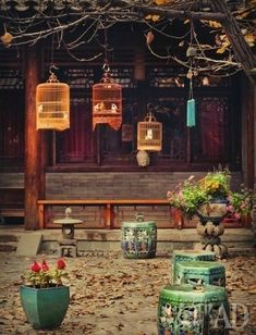The old courtyard houses Beijing, China Chinese Courtyard, Chinese Garden, Interior Chino, Asian Interior, Art Asiatique, Courtyard House, Asian Decor, China Travel, Chinese Culture