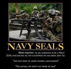 Navy Seals - done talking