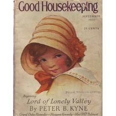 1931 Good Housekeeping September, Jessie Willcox Smith