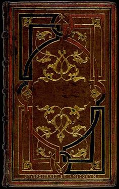 Gold Tooling - Jean Picard c. 1540. The British Library - Database of Bookbindings