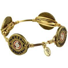 Shotgun shell bracelet