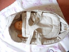 un petit couffin de poupée ! baby love edition - by Marie