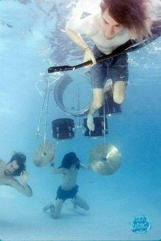 Nirvana underwater