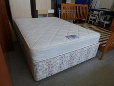 King size (5ft) divan bed with mattress ------------ £95 (pc121)