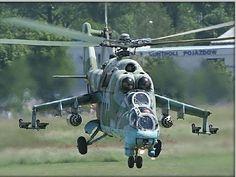 Mi-24 Hind D // gunship, attack helo