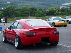 roadster in oasisMTG 2015 awaji island Miata Wheels, Awaji Island, Mx5 Na, Mazda Miata, Performance Parts, Fast Cars, Cars And Motorcycles, Japan Style, Vehicles