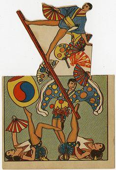 Japanese acrobats   Flickr - Photo Sharing!